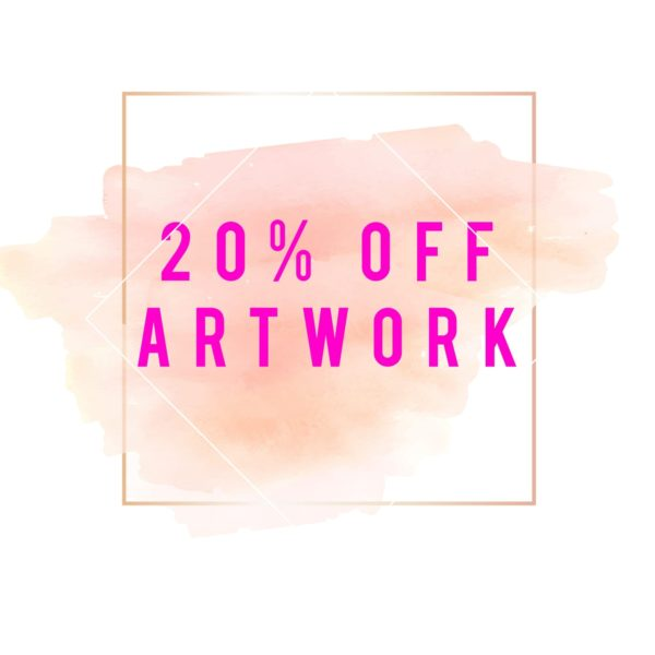 20% Off Artwork